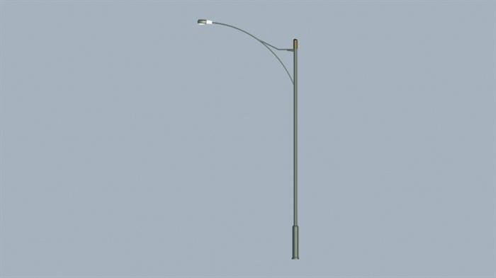 多种公路灯设计3d效果图