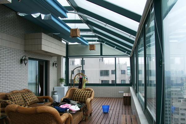 露台玻璃房设计要点