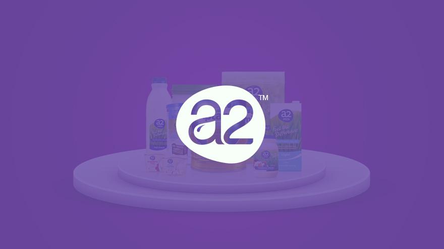 a2 milk品牌网站制作