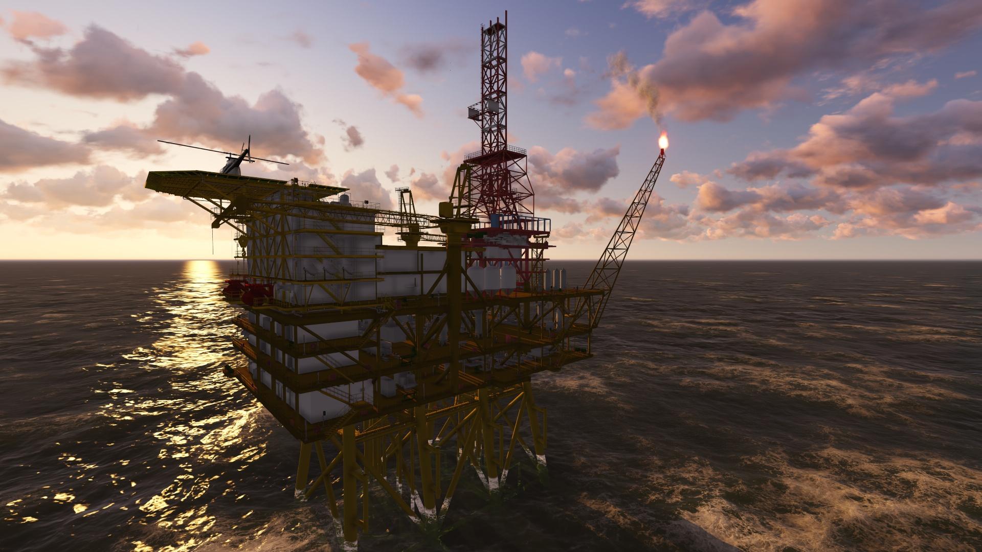 中海油工程演示動畫案例