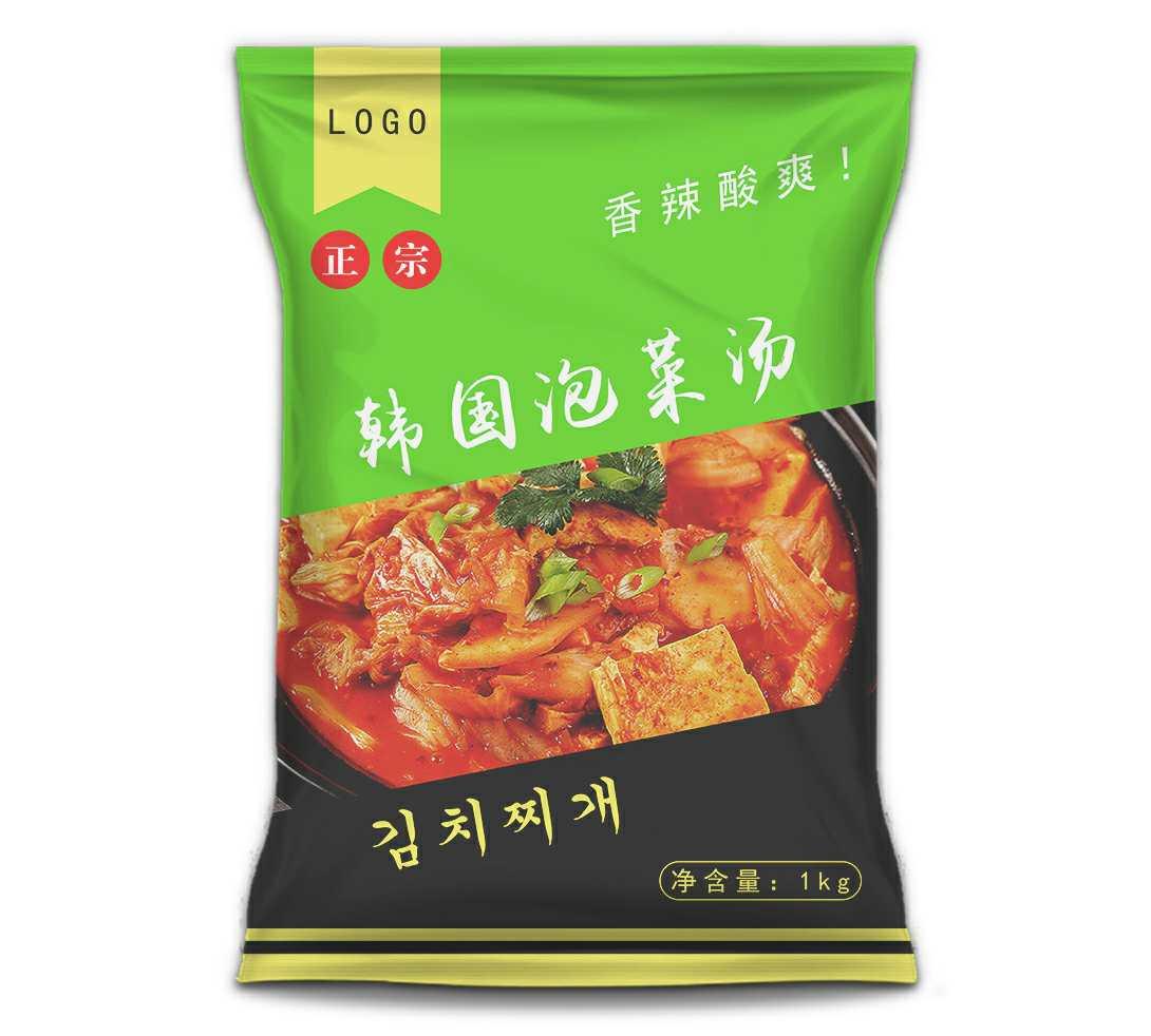 韩国泡菜汤包装设计